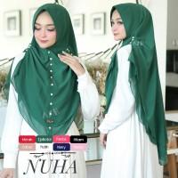 Jilbab Syari Khimar Syari Nuha Mutiara Melati Ceruti Premium Oval