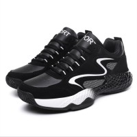 2019 Man High-top Basketball Shoes Light Basketball Sneakers Anti-skid