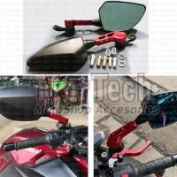 Kaca Spion Sepion CNC Model Ducati Kawasaki KLX D Tracker Ninja Z250fi