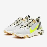 Sepatu sneakers Nike original React Element 55 Spruce BQ6166009