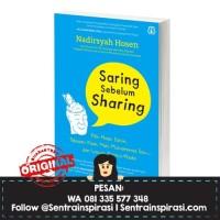Saring Sebelum Sharing by Nadirsyah Hosen