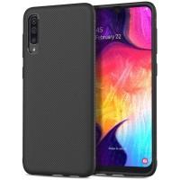 Samsung A20 / A30 / A50 Soft Case Fiber Carbon