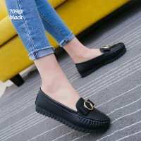 New Arrival... Ladies PU Leather Danhong Shoes FLS-709@