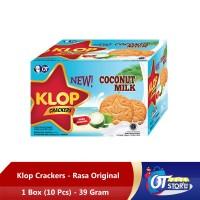 KLOP COCONUT 39GR [1 BOX ISI 10PCS] - 1 BOX