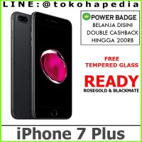 IPHONE 7 PLUS 256GB / 256 GB ROSEGOLD BLACKMATE JETBLACK SILVER GOLD