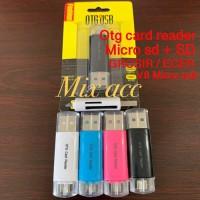Card Reader OTG micro + MICRO SD + SD Qualitas SUPER