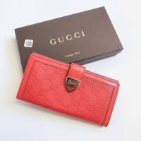b54c2212c Dompet Gucci original - Gucci Guccissima Signoria Buckle Red cb