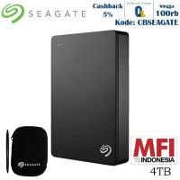 Seagate Backup Plus Portable Harddisk Eksternal 4TB - Hitam + PC [FS]