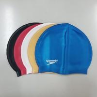 Topi Renang Penutup Rambut Swim Cap Silicone Speedo KW