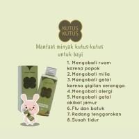 Minyak Kutus-Kutus Organic Herbal Healing Oil
