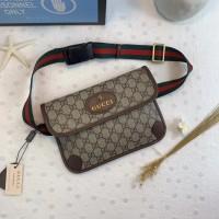 7affd1f8638 Gucci GG Supreme Interlocking Belt Bag   Waist Bag