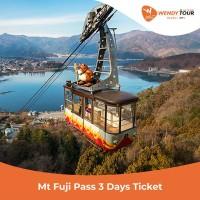 Tiket Mt. Fuji Pass 3 Days - (ANAK)