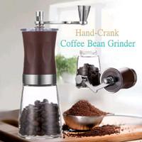 Manual Coffee Grinder Slim Ceramic Burr Penggiling Kopi Bali Aceh Gayo