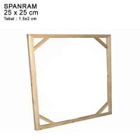 SPANRAM Frame Rangka Kayu 25X25cm
