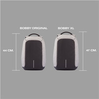 Bobby XL Anti-Theft Backpack by XD Design / Anti-Theft Backpack - Grey