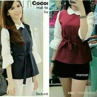 cocombi blouse Pakaian Baju Atasan Wanita Kemeja Tunik Zahra Stores