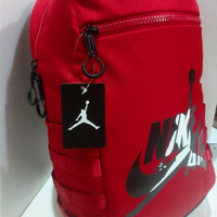 1945c445ff23 ORIGINAL tas backpack AIR JORDAN remix logo ransel NIKE AIR