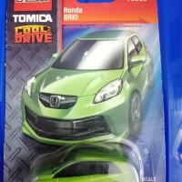 Tomica Card Honda Brio Hijau