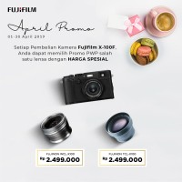PROMO PWP FUJIFILM X100F BLACK + WCL