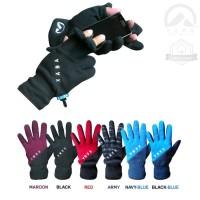 Big Sale Fleece Gloves XABA , Sarung Tangan Outdoor , Sepeda.