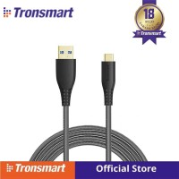 TRONSMART TAC02 6ft USB-C to USB-A 3.0 Fast Charging Cable