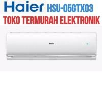 Promo Haier Ac Split R410A Hsu-05Gtx03 1/2 Pk Remote Low Watt China