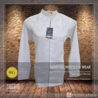 Baju Koko Tarbiyah Lgn Panjang Putihan Edisi 0402