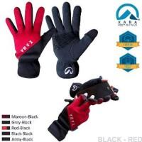 Fleece Gloves XABA , Sarung Tangan Outdoor , Sepeda. stok terbata
