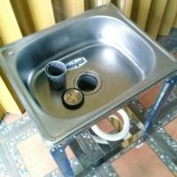 Kitchen Sink Bak Cuci Piring Portable Royal SB 42 K Terlaris