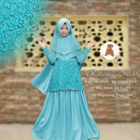 Baju Busana Muslim Wanita Gamis Syari Pesta Anak Rafania Maxm Terbaru