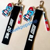 Harga best seller strap keychain resin kpop ikon x yg krunk bear | antitipu.com
