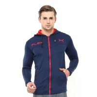 FLEXZONE Jaket - Navy - for Gym Running Jogging Sport FJS-002DK