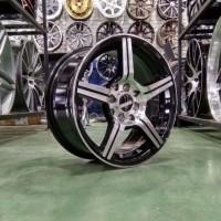 HRG PROMO Velg Mobil HSR Tipe EMINENCE Ring 16 Nissan March Brio