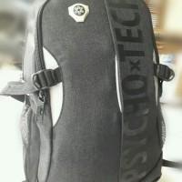 Backpack Psychotech Tas Ransel Sekolah / Kuliah / Kerja paket 6pcs