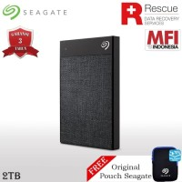 Seagate Backup Plus Ultra Touch 2TB - HDD / HD / Harddisk Eksternal
