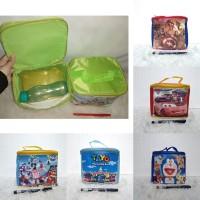 Harga tas kubus parasut oskar souvenir goodie bag ulang tahun anak harga | antitipu.com