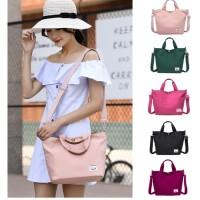 TS59 Korea Versatile Nylon Shoulder Bag / Tas Selempang Wanita - Peach