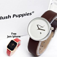 Buy 1 Get 1 Free Hush Puppies Bulat Leather Brown + iphone leather
