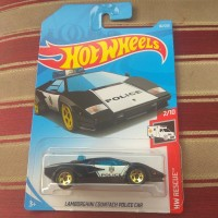 Hotwheels Lamborghini Countach Police Car
