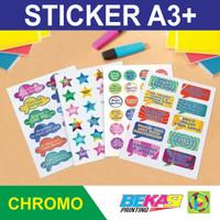 Cetak Sticker A3+ Chromo - Digital High Resolution