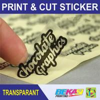 Print & Cut Sticker Transparant A3+