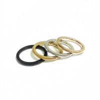 CINCIN RING PREMIUM TITANIUM STEEL