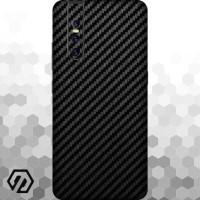 [EXACOAT] Vivo V15 Pro 3M Skin / Garskin - Carbon Fiber Black