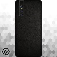 [EXACOAT] Vivo V15 Pro 3M Skin / Garskin - Leather Black