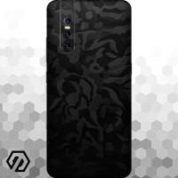 [EXACOAT] Vivo V15 Pro Skins 3M Skin / Garskin - Black Camo