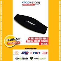 Cressi Neoprene Mask Strap Cover - BLACK DS339995