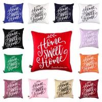 Sarung Bantal Kursi 40x40 #HomeSweetHome