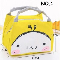 Lunch bag animal / tas bekal anak/ tas bekal tahan panas