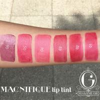 [ 1 SET 6 VARIAN ] MADAME GIE - MAGNIFIQUE LIP TINT - LIPTINT BY GISEL