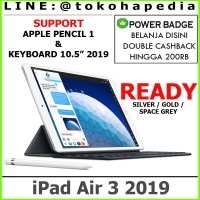 "IPAD AIR 3 10.5"" 2019 256GB / 256 WIFI ONLY GOLD SPACE GREY SILVER"
